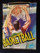 1989-90 Fleer Basketball Wax Box - 36 packs