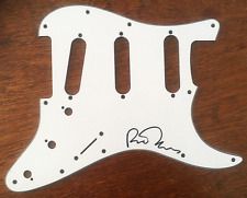 RICHARD THOMPSON SIGNED GUITAR SCRATCH PLATE Pick Guard FAIRPORT CONVENTION