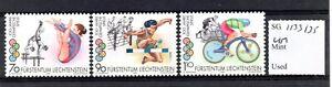 Liechtenstein 1996 Olympics set SG1133/35 MNH