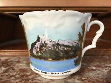 Vintage BANFF National Park Canada Collingwoods Fine Bone China Teacup England