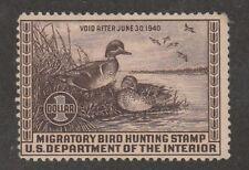Kappysstamps Ks2840 Usa Bob Federal Ducks Sc# Rw6 Mint Hinged Retail $130