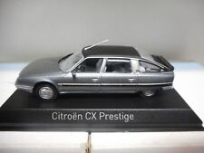 Citroen CX Turbo 2 Prestige 1986 Fox Grey Met Norev 1 43