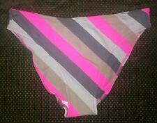 Bas de maillot de bain bikini LISE CHARMEL rayé rose   TAILLE 1