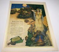 Vintage Ladies Home Journal PALMOLIVE SOAP Advertisement July, 1925 Cleopatra