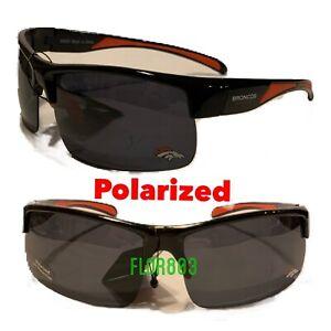 Denver Broncos NFL Polarized Wrap Sunglasses UV 400