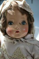 Vintage Horsman Doll with Sleep Eyes & open Mouth - Composition and Cloth TLC