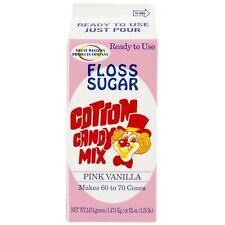 Floss Sugar Pink Vanilla 1 Cotton Candy Floss Sugar Pink Vanilla 1