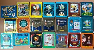 Panini - World Cup & Euro Sealed Sticker Packets 1988 - 2020