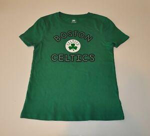 NWOT Boston Celtics Girls Youth Green T-shirt (L) Shirt Jersey (10/12) Large NBA
