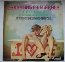 OCTAVE CALLOT & SA FANFARE DES BEAUX ARTS (LP 33T) CHANSONS PAILLARDES