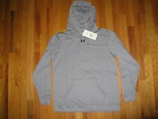 NWT Under Armour Loose Women's MEDIUM Long Sleeve Fleece Hoodie Sweatshirt $50