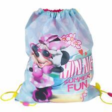 """Disney/Personaje """"Vuelta Al Cole """"Cordón Pe / Natación Bolsa - Minnie Mouse"""