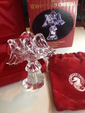 NIB Waterford Crystal Millennium Angel Generosity Christmas Ornament (N6)