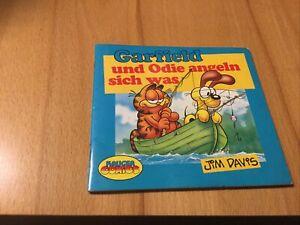 Garfield und Odie angeln sich was von Davis Jim  Kleines Büchlein