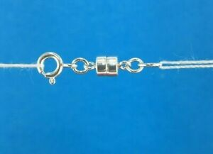 Sterling Silver 925 Strong Mini Magnetic Clasp Converter Necklace or Bracelets