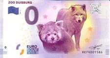 ALLEMAGNE Duisburg, Zoo 4, 2017, Billet 0 € Souvenir