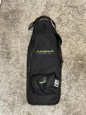 Black Akona Adventure Scuba Snorkel Gear Duffle Bag One Shoulder Strap Zipper