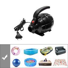 New Black Portable Electric Air Inflator Pump 3 Nozzle Gymnastics Mat Inflatable