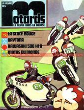 La Revue des MOTARDS 26 KAWASAKI 500 Mach 3 SOLEX MOTO GUZZI TS 250 DAYTONA 1973