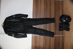 Motorrad Schutzkleidung; Jacke,Hose,Schuhe und Helm