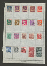 Switzerland Small Collection, Older Issuse.  Lot #21I19