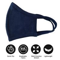 Navy Blue Face Mask, Fashion Washable & Reusable, Breathable, Unisex Face Mask