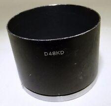 Lens hood Metal Minolta D48KD for 100mm f4  135mm f4.0 TC SR 46mm slip on type