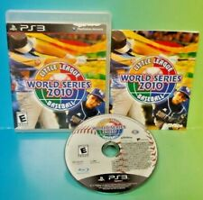 Little League Baseball World Series - Sony PlayStation 3 PS3  Game Tested Works