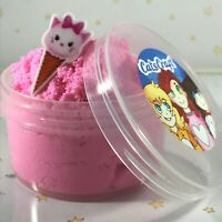 "SLIME ""PINK SUGAR CLOUD"" CHARM Soft Snow Fluffy 2 4 6 8 12 oz Scented Choice"