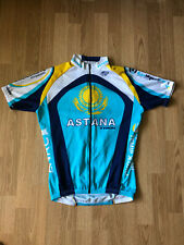 Astana Trek Cycling Jersey Shirt Bike Bicycle Size M