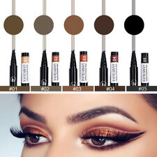 1PC Microblading Tattoo Eyebrow Pencil Ink Fork Tip Pen Eye Brow Women Makeup