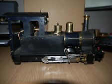 Live Steam 16mm SM32 G-scale 0-6-0 loco with Roundhouse boiler 45mm
