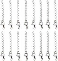 """Rainbow Electroplated Stainless Steel Curb Chain Necklace 22/"""" 3mm N174"""