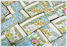 China Mosaic Tiles ~ ViNTaGE BLuE LaCE ~ Mosaic Tiles