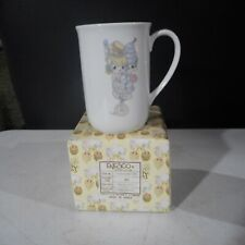 Precious Moments Clown Couple Unicycle Mug Happiness Act Together Enesco #21059C