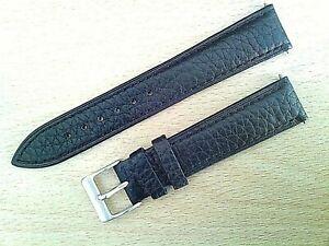Elegant Buffalo grain leather watch strap & ODD sizes fits Tissot ,Longines etc.