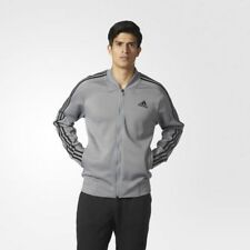 Brand New Men's Grey Adidas Squad Track Jacket Size XL Very Nice!!!