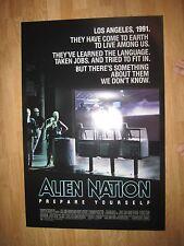 ALIEN NATION   Original American One Sheet