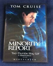 2002 Minority Report DVD 2-Disc Set Widescreen the Film that inspired the iPhone