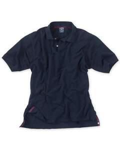 $115 NWT BILLS KHAKIS Medium NAVY SUPIMA cotton pique short sleeve POLO shirt