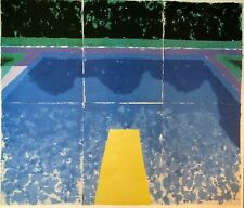 Day Pool with Three Pools by David Hockney (79cm x 67cm)