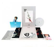 SEVENTEEN 2nd Album - TEEN, AGE [WHITE Ver.] CD + Photo Book Card Folding...