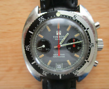 Vintage Tissot seastar navigator chronograph with valjoux 7734 movement 1970's