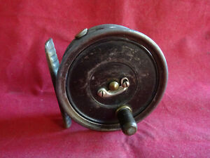 """RARE VINTAGE HARDY 2 5/8"""" UNIQUA BROOK TROUT FLY REEL WITH RIM CONTROL"""