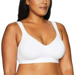 Playtex Women's 18 Hour Lift and Support Cool Comfort Cotton, White, Size 38C