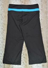 Tek Gear Womens Athletic Shape Pants Size Small Charcoal Turquoise Inventory I02