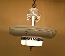 Vintage Lighting amazing circa 1940 Moderne chandelier