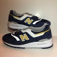 New Balance Made in USA 997 Men's Shoes M997PAN Blue/White Size 8.5