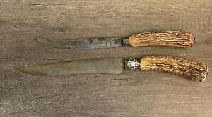 Vintage Landers Frary Clark Etna Works Sterling Knife Set