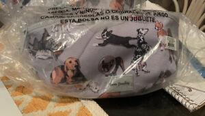 Vera Bradley REACTIVE  RFID BELT BAG BEST IN SHOW NEW IN PACKAGE DOGS